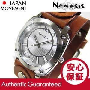 NEMESIS(ネメシス) Leather Cuff/レザーカフウォッチ BGB066S アメリカンカジュアル メンズウォッチ 腕時計|goody-online