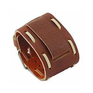 【ラグ幅:22-24mm対応】NEMESIS(ネメシス)BHIN Leather Cuff/レザーカフ付け替えベルト アメリカンカジュアル 腕時計替えバンド/ベルト|goody-online