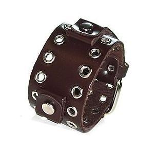 【ラグ幅:18-20mm対応】NEMESIS(ネメシス)BNEB Leather Cuff/レザーカフ付け替えベルト アメリカンカジュアル 腕時計替えバンド/ベルト|goody-online