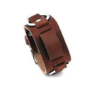 【ラグ幅:20-22mm対応】NEMESIS(ネメシス)BRB Leather Cuff/レザーカフ付け替えベルト アメリカンカジュアル 腕時計替えバンド/ベルト|goody-online