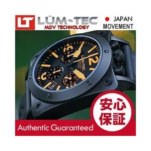 【世界限定ウォッチ】 LUM-TEC (ルミテック) A20 BULL42 クロノグラフ 日本製 SII VK67 Mecha クォーツ PVD ミリタリー 腕時計|goody-online