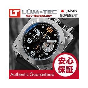 【世界限定ウォッチ】LUM-TEC (ルミテック) BULL42 A21 クロノグラフ 日本製 SII VK67 Mecha クォーツ ミリタリーウォッチ 腕時計|goody-online