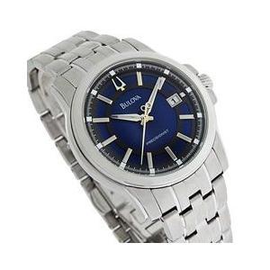 【シチズンの傘下】BULOVA (ブローバ) 96B159 PRECISIONIST/プレシジョニスト ブルーダイアル メタルベルト メンズウォッチ 腕時計 (IA)|goody-online