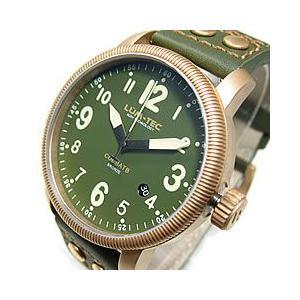 【限定生産】 LUM-TEC (ルミテック) Combat B19 Bronze コンバット ブロンズ 自動巻き Miyota 9015 オリーブグリーン カーキ ミリタリー 腕時計【あすつく】|goody-online