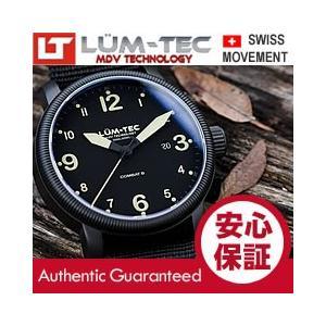 【世界限定ウォッチ】 LUM-TEC (ルミテック) Combat B35 Auto 自動巻き スイス製 STP 1-11ムーブメント PVD ミリタリー 腕時計|goody-online