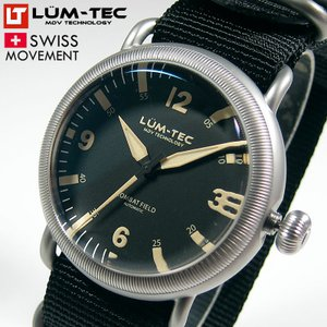 LUM-TEC ルミテック COMBAT FIELD X1 44mm 自動巻き スイス製SELLITA SW200ムーブメント採用 メンズ 腕時計【あすつく】|goody-online