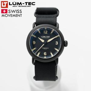 LUM-TEC ルミテック COMBAT FIELD X2 チタニウムコート 44mm 自動巻き スイス製ムーブメント採用 メンズ 腕時計|goody-online