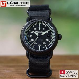 LUM-TEC ルミテック COMBAT FIELD X3 チタニウムコート 44mm 自動巻き スイス製ムーブメント採用 メンズ 腕時計|goody-online