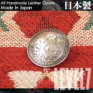【USA OLD COIN】アメリカ Washington クォーターダラー 本物/リアルオールドコインコンチョ  LEVEL7/レベルセブン|goody-online