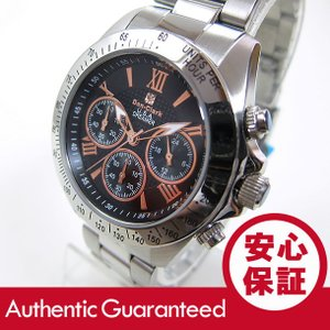 DON CLARK (ダンクラーク) DM-2051-07R/DM2051-07R クロノグラフ ローズゴールドインデックス メンズウォッチ 腕時計|goody-online