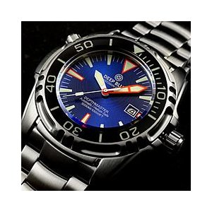 DEEP BLUE (ディープブルー) DM3K-BL DEPTH MASTER 3000m防水 ダイバーズ 自動巻き Miyota9015ムーブメント搭載 サファイアベゼル ブルーダイアル 腕時計 goody-online