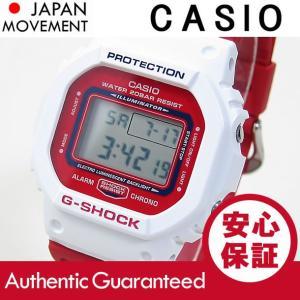 CASIO G-SHOCK カシオ Gショック DW-5600TB-4A/DW5600TB-4A THROW BACK 1983 デジタル ホワイト/ピンク メンズ 腕時計|goody-online