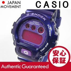 CASIO G-SHOCK(カシオ Gショック) DW-6900CC-6/DW6900CC-6 Crazy Colors/クレイジーカラーズ パープル 新色 メンズウォッチ 腕時計|goody-online