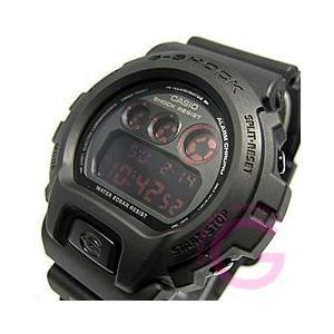 CASIO G-SHOCK(カシオ Gショック) DW-6900MS-1/DW6900MS-1 マットブラック レッドアイ メンズウォッチ 腕時計