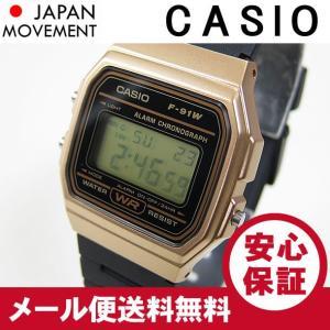 CASIO(カシオ) F-91WM-9A/F91WM-9A デジタル ブラック×ゴールド キッズ・子供 かわいい! メンズ/ユニセックスウォッチ チープカシオ 腕時計 【あすつく】|goody-online