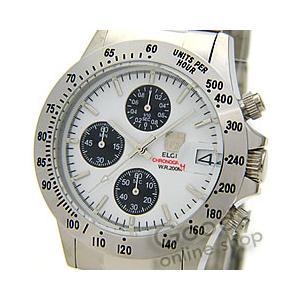 【正規品】ELGIN(エルジン) FK1184S-W クロノグラフ ダイバーズウォッチ 20気圧防水 メンズ 腕時計【あすつく】|goody-online