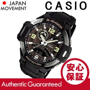 CASIO G-SHOCK(カシオ Gショック) GA-1000-1B/GA1000-1B SKY COCKPIT/スカイコックピット アナデジ ブラック メンズウォッチ 腕時計