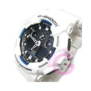 CASIO G-SHOCK(カシオ Gショック) GA-100B-7A/GA100B-7A アナデジコンビ 速度計測 ホワイト メンズウォッチ 腕時計 【あすつく】|goody-online