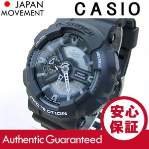CASIO G-SHOCK(カシオ Gショック) GA-110C-1A/GA110C-1A モノトーン ブラック アナデジ メンズウォッチ 腕時計【あすつく】|goody-online