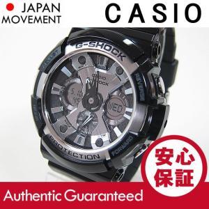 CASIO G-SHOCK(カシオ Gショック) GA-200BW-1A/GA200BW-1A Garish Black/ガリッシュブラック アナデジ メンズウォッチ 腕時計 【あすつく】|goody-online