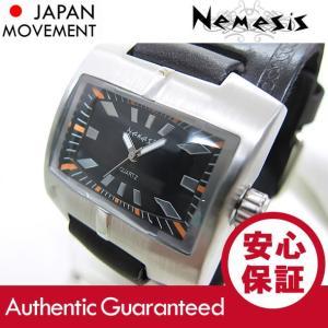 NEMESIS(ネメシス) Leather Cuff/レザーカフウォッチ HST060SK アメリカンカジュアル メンズウォッチ 腕時計 【あすつく】|goody-online