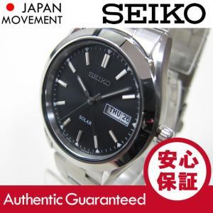 SEIKO(セイコー) SOLAR/ソーラー SNE039 ブラック ステンレスベルト メンズウォッチ 腕時計 【あすつく】 goody-online