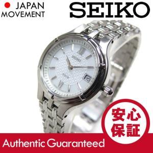 SEIKO(セイコー) SOLAR/ソーラー SUT015 ホワイト ステンレスベルト レディースウォッチ 腕時計 【あすつく】 goody-online