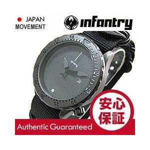 INFANTRY(インファントリー) IN-037-WHBK ブラック ホワイトベゼル×ブラックZULUベルト ミリタリーウォッチ/メンズウォッチ 腕時計 【あすつく】 goody-online