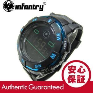 INFANTRY(インファントリー) IN-071-BLU-R デジタル 樹脂ベルト ブルー ミリタリーウォッチ/メンズウォッチ 腕時計 【あすつく】 goody-online