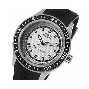 INVICTA(インビクタ) 15223 Specialty/スペシャリティー ブラック×ホワイト ラバーベルト メンズウォッチ 腕時計 【あすつく】|goody-online