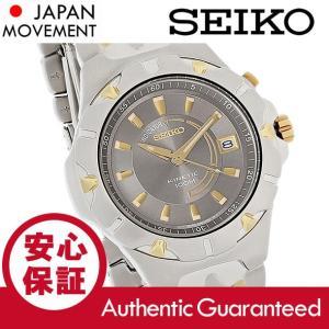 SEIKO (セイコー) SKA192 Kinetic/キネティック クラシック ゴールド×シルバー コンビ メタルベルト メンズウォッチ 腕時計|goody-online