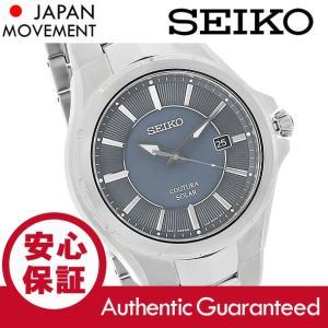 SEIKO (セイコー) SNE411 SOLAR/ソーラー Coutura/クチューラ グレーダイアル メタルベルト シルバー メンズウォッチ 腕時計|goody-online