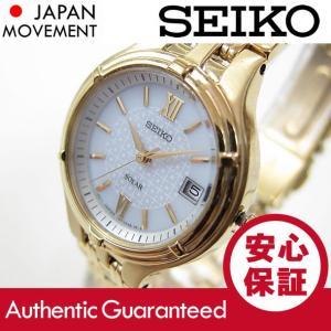 SEIKO (セイコ) SUT018 SOLAR/ソーラー ゴールド レディースウォッチ 腕時計 【あすつく】 goody-online