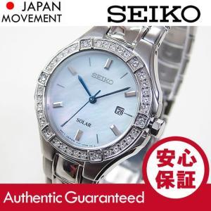 SEIKO(セイコー) SUT281 Core/コア SOLAR/ソーラー ストーン装飾 マザーオブパール メタルベルト レディース 腕時計 【あすつく】|goody-online