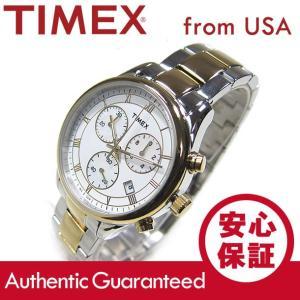 TIMEX (タイメックス) T2P409 Classics/クラシック クロノグラフ メタルベルト マザーオブパールダイアル レディースウォッチ 腕時計【あすつく】|goody-online