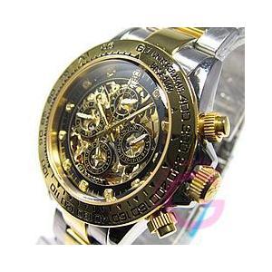 J.HARRISON(ジョンハリソン) JH-003GBK フルスケルトン 自動巻き メンズウォッチ 腕時計 【あすつく】|goody-online