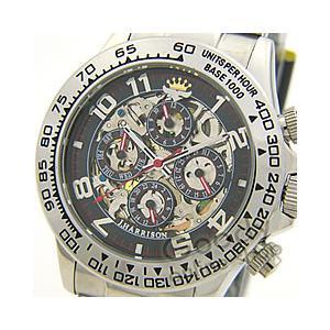 J.HARRISON(ジョンハリソン) JH-003RB 機械式腕時計 自動巻き フルスケルトン ブラック 正規品 メンズ 腕時計【あすつく】|goody-online