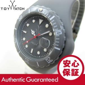 ToyWatch (トイウォッチ) JY10GY Jelly ラバーベルト グレー ユニセックスウォッチ 腕時計 【あすつく】|goody-online