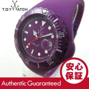 ToyWatch (トイウォッチ) JY18AM Jelly ラバーベルト パープル ユニセックスウォッチ 腕時計 【あすつく】|goody-online