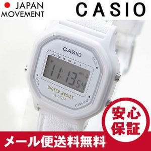 CASIO(カシオ) LA-11WL-7A/LA11WL-7A ベーシック デジタル ホワイト キッズ・子供 かわいい!レディースウォッチ チープカシオ 腕時計 【あすつく】|goody-online
