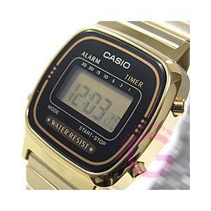 CASIO(カシオ) シンプルデジタル LA-670WGA-1UW/LA670WGA-1UW ゴール...