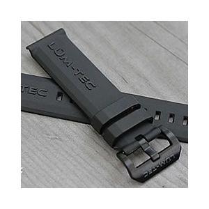 【22MM】 LUM-TEC (ルミテック) 22mm ラバーストラップ PVDバックル 純正 替えベルト 腕時計 【あすつく】|goody-online