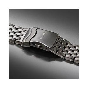 【22MM】 LUM-TEC (ルミテック) Combat B クロノグラフモデル対応 316Lステンレス/SS 純正 替えベルト 腕時計|goody-online