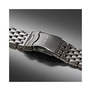 【22MM】 LUM-TEC (ルミテック) Combat B クォーツモデル対応 316Lステンレス/SS 純正 替えベルト 腕時計|goody-online