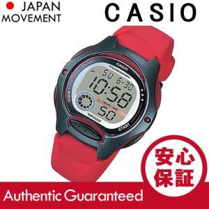 CASIO カシオ LW-200-4A/LW200-4A デジタル レッド キッズ 子供 かわいい レディース チープカシオ チプカシ 腕時計 goody-online