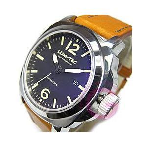 【世界限定150本】 LUM-TEC (ルミテック) M52 M TUNGSTEN/Mタングステン 自動巻き セイコーインスツル NH35ムーブメント搭載 マットブラック 腕時計|goody-online