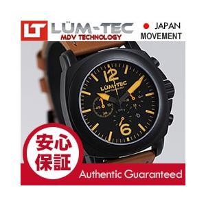【★限定生産★送料無料・正規一年保証】 LUM-TEC (ルミテック) M73-S 40mm クロノグラフ Miyota FS20ムーブメント チタンカーバイドPVD メンズ 腕時計|goody-online
