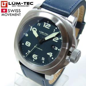 【85本限定生産】 LUM-TEC (ルミテック) M76 チタニウム 44mm 自動巻き スイス製ETA 2824-2ムーブメント採用 メンズウォッチ 腕時計|goody-online