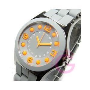 MARC BY MARC JACOBS (マーク バイ マークジェイコブス) MBM2589 ペリー ステンレス×ラバーベルト グレー レディースウォッチ 腕時計|goody-online