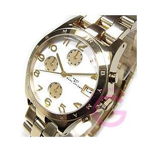 MARC BY MARC JACOBS (マーク バイ マークジェイコブス) MBM3039 ヘンリー クロノグラフ ゴールド ユニセックスウォッチ 腕時計|goody-online